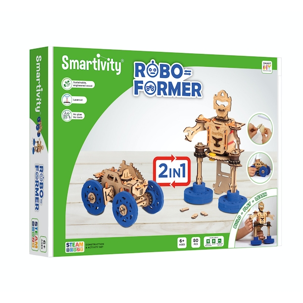 Smartivity Roboformer Construction Set