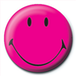 Smiley - Pink Badge - Image 2