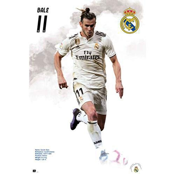 Real Madrid FC Poster Bale 58