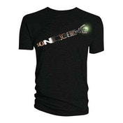 Doctor Who - Sonic Screwdriver Words Men's Small T-Shirt - Black