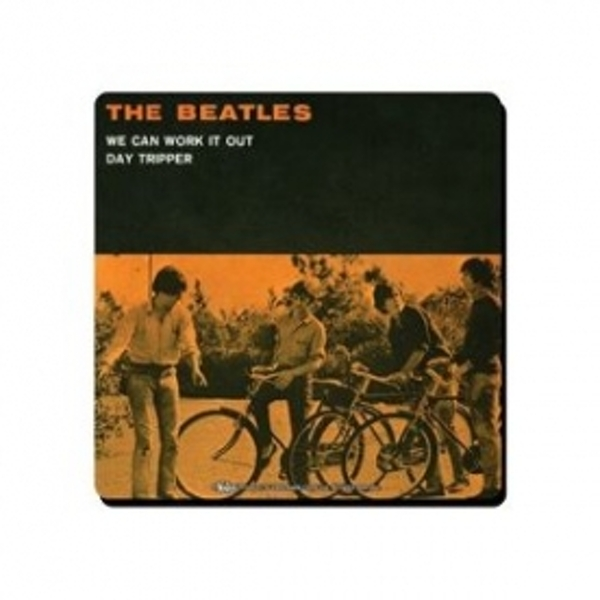 The Beatles We Can Work It Out Single Coaster