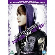 Justin Bieber Never Say Never DVD