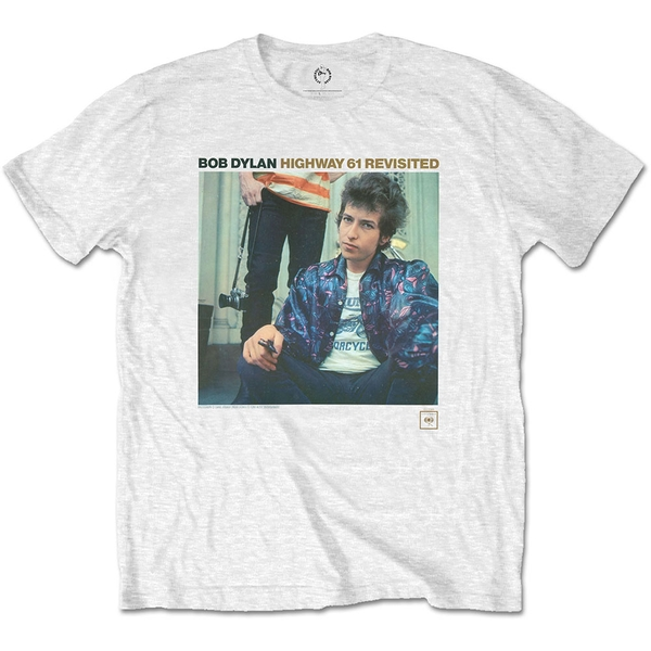 Bob Dylan - Highway 61 Revisited Unisex X-Large T-Shirt - White