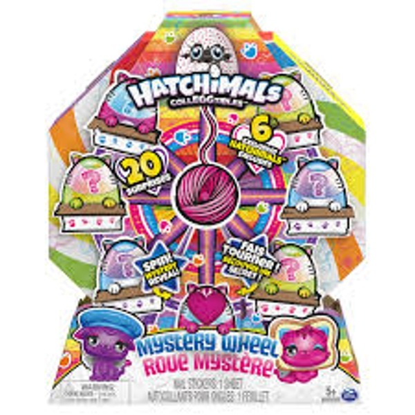Hatchimals Colleggtibles Cat Crazy Mystery Wheel - Image 1