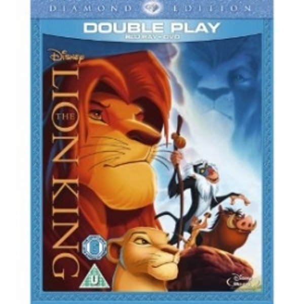 The Lion King Diamond Edition Blu-Ray & DVD