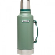Stanley Classic Vacuum Insulated Bottle, Green - 1.9 Litre