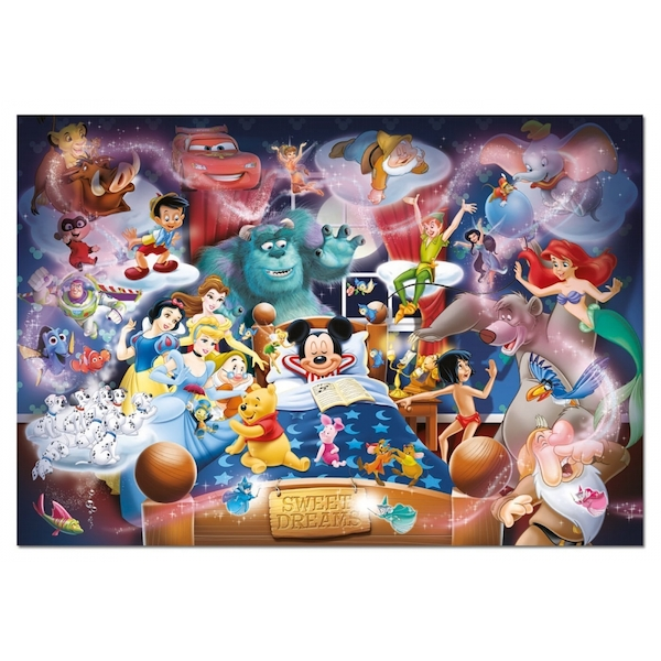 16064984f87 Disney Mickey s Sweet Dreams 1000 Piece Jigsaw Puzzle - ozgameshop.com