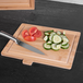 Bamboo Chopping Boards with Index Tabs - Set of 4 | M&W - Image 6