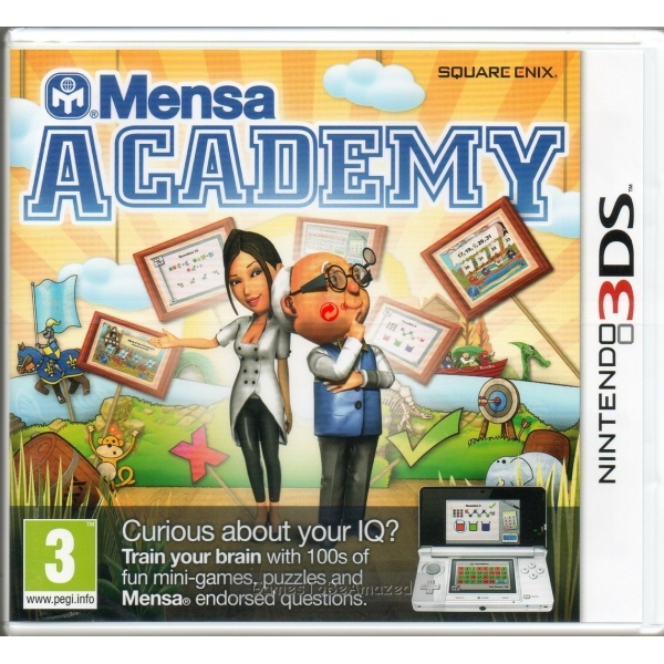 Mensa Academy Game 3DS