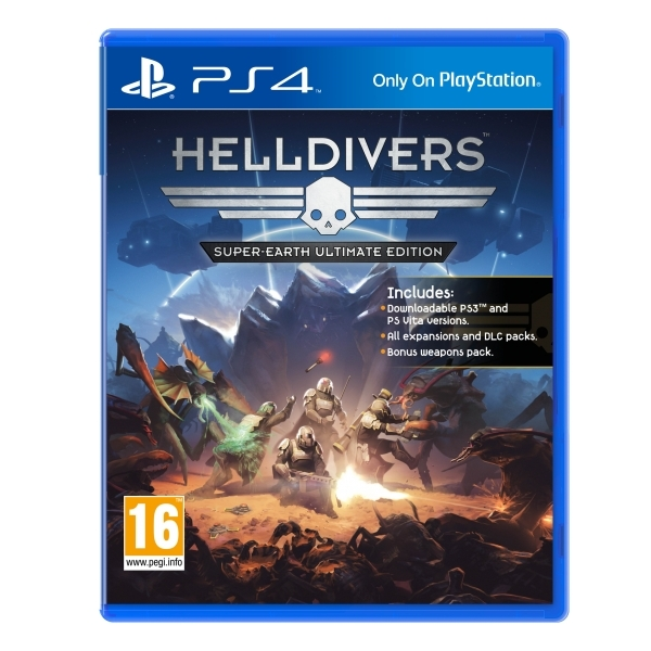 Helldivers Super-Earth Ultimate Edition PS4 Game