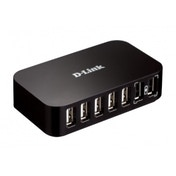 D-Link USB 2.0 7 Port Hub UK Plug