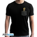 Marvel - Pocket Groot Men's X-Small T-Shirt - Black - Image 2