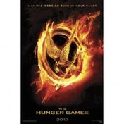 The Hunger Games Flaming Mockingjay Maxi Poster