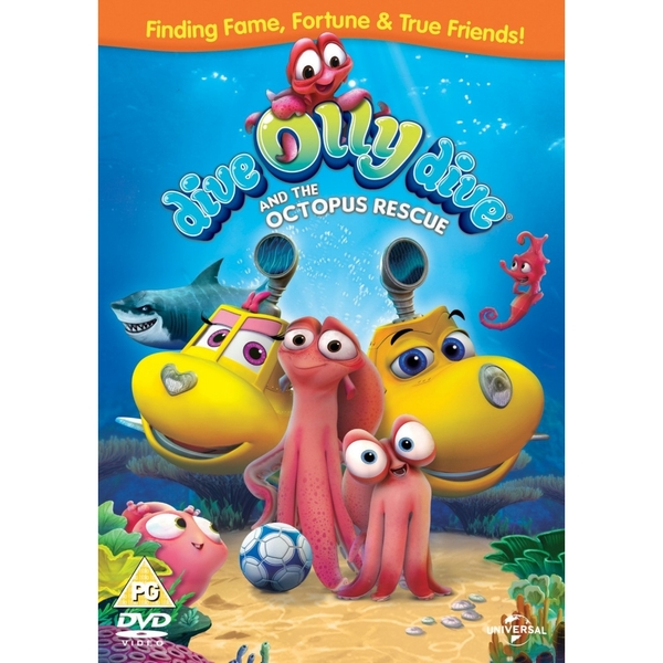 Dive Olly Dive And The Octopus Rescue DVD