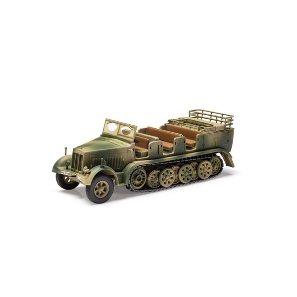 Sdkfz 7 Artillery Tractor Tunisia 1943 1:50 Corgi Military Legends Model