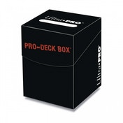Ultra Pro 100  Black Deck Box
