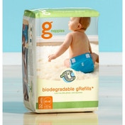 gNappies Disposable Inserts - Medium/Large/X-large Pack (contains 32 inserts)