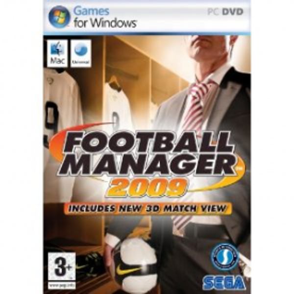 Football Manager 2009 Game PC & MAC