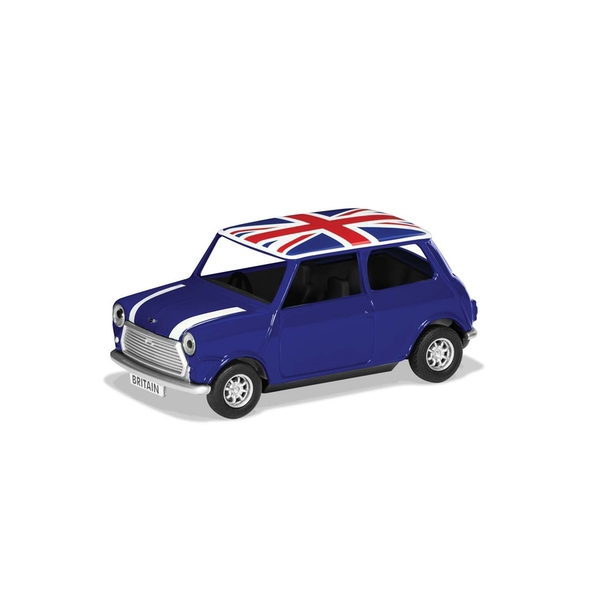 Classic Mini Blue Best of British Corgi 1:36 Model Car
