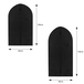 Breathable Clothes Covers - Pack of 6 | M&W Black - Image 6