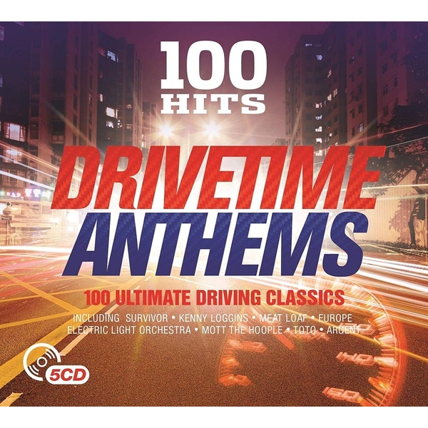 100 Hits - Drivetime Anthems CD