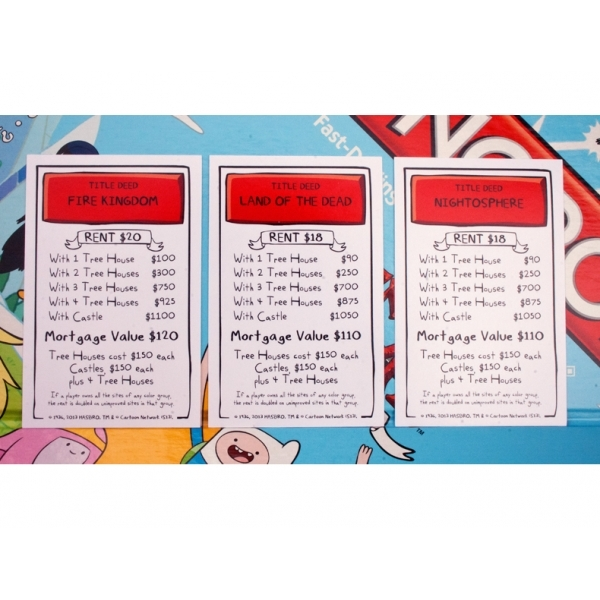 Adventure Time Monopoly - Image 5