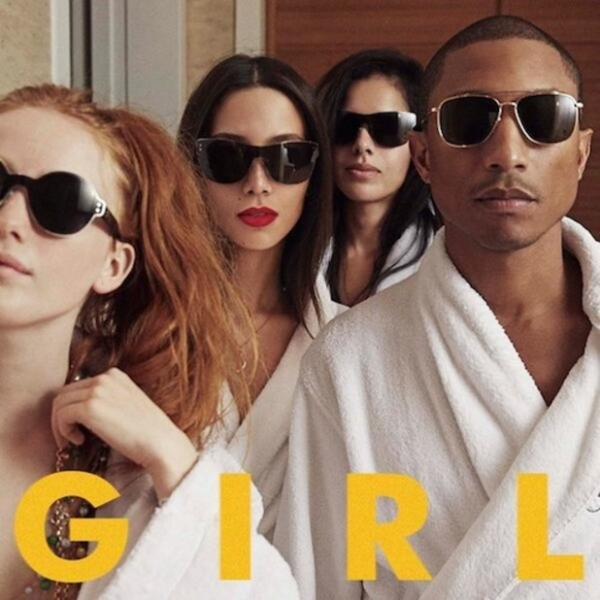 Pharrell Williams G I R L CD
