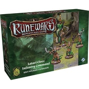 Runewars The Miniatures Game Latari Elves Infantry Command Unit Upgrade Expansion Board Game