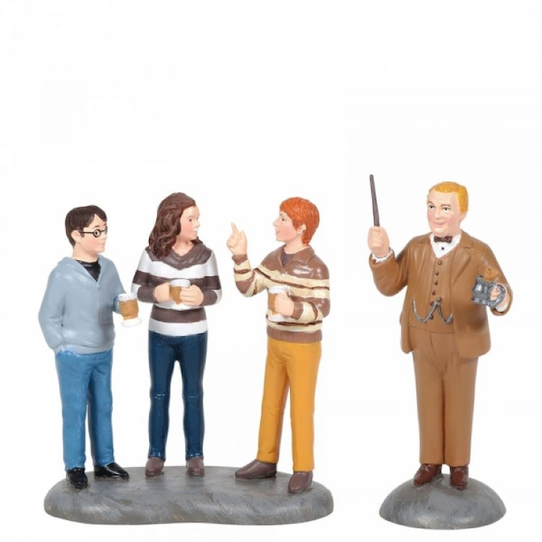 Professor Slughorn and his Students (Harry Potter) Figurine