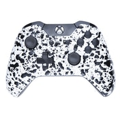 3D White Splash Xbox One Controller