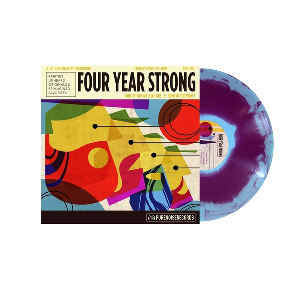 Four Year Strong - Some Of You Will Like This // Some Of You Won't Limited Edition Tri Colour Vinyl