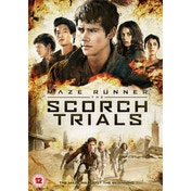Maze Runner The Scorch Trials DVD