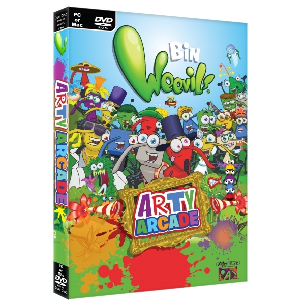 Bin Weevils Arty Arcade PC Game
