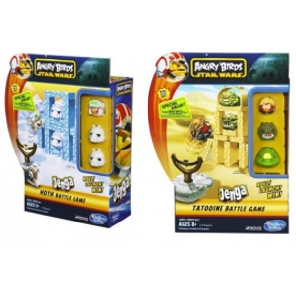 Star Wars Angry Birds HOTH Jenga Battle Pack - Image 2