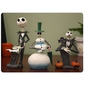 Nightmare Before Christmas: Mini Bobble Head Knocker Set of 3