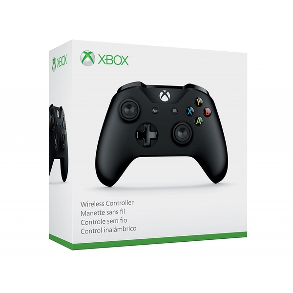 Official Microsoft Black Wireless Controller Xbox One V2 [Used - Good]