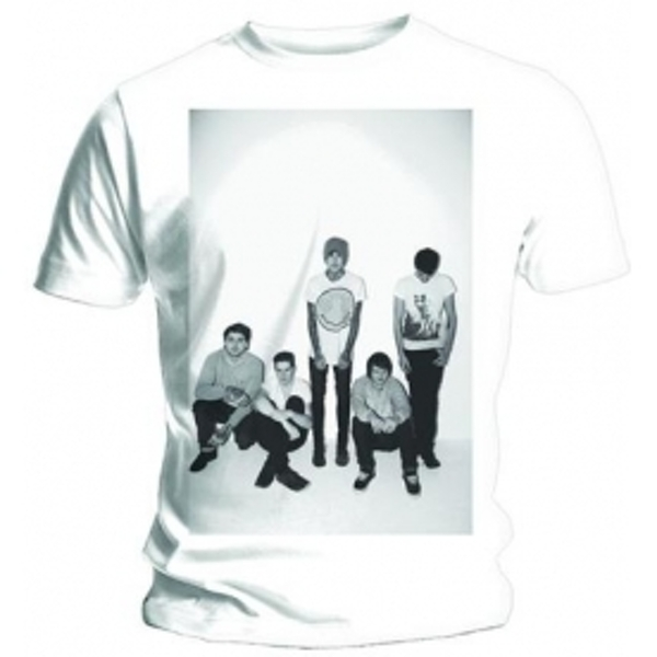 BMTH Group Shot Mens White T-Shirt: X-Large