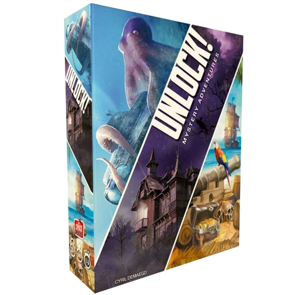 Unlock! 2 Escape Adventures Card Game [Damaged Packaging]