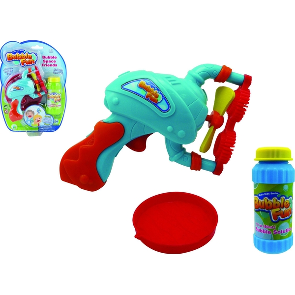 Bubble Fun - Small Hand Held Bubble Space Blaster
