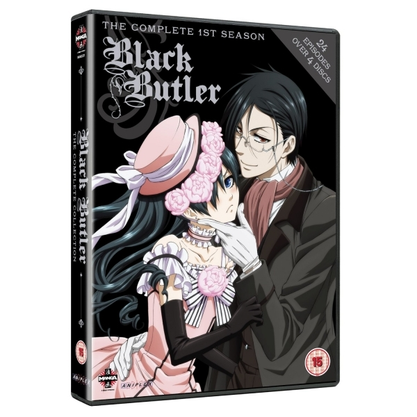 Black Butler Complete 1st Series Box Set DVD