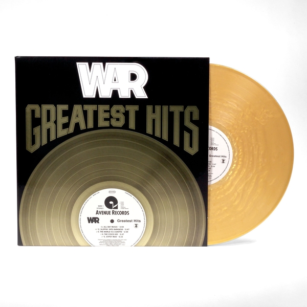 War - Greatest Hits Limited Edition Gold Vinyl