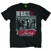 The Beatles Star Club Black Mens T Shirt Size: Large
