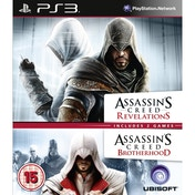 Assassin's Creed Brotherhood & Revelations Double Pack PS3 Game