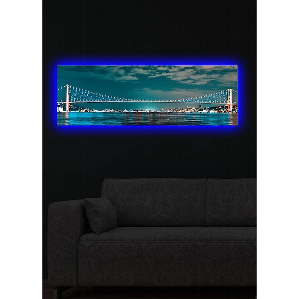 3090DACT-16 Multicolor Decorative Led Lighted Canvas Painting