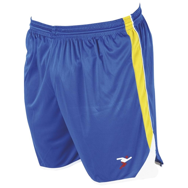 Precision Roma Shorts 42-44 Inch Adult Royal/Yellow/White