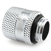 """XSPC G1/4"""" Male to Female Rotary Fitting (Chrome)"""