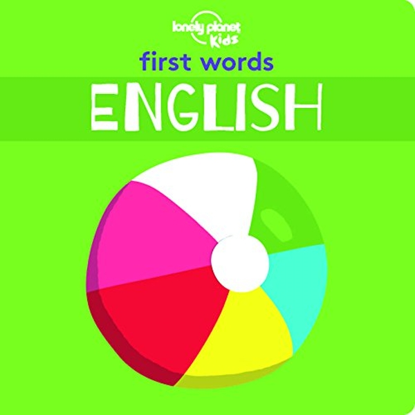 First Words - English  Board book 2018