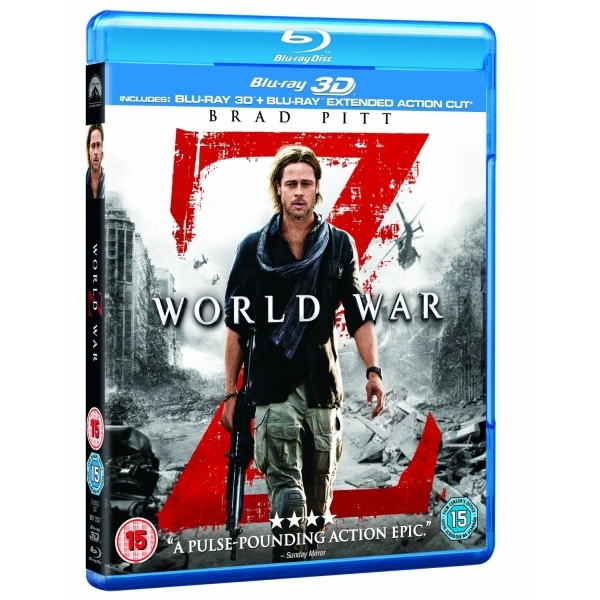 World War Z 2D + 3D Blu-ray - Image 1