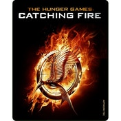 The Hunger Games Catching Fire  Limited Edition Triple Play Steelbook Blu-ray & DVD & UV Copy