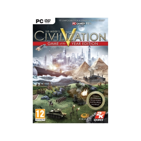 Sid Meier's Civilization V 5 Game Of The Year Edition (GOTY) PC
